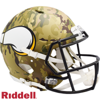 MINNESOTA VIKINGS CAMO SPEED AUTHENTIC HELMET