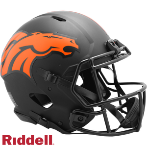 DENVER BRONCOS ECLIPSE SPEED AUTHENTIC HELMET
