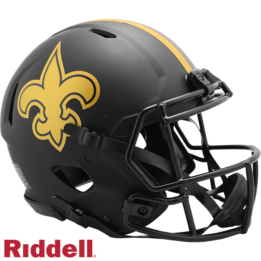 NEW ORLEANS SAINTS ECLIPSE SPEED AUTHENTIC HELMET