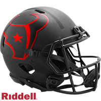 HOUSTON TEXANS ECLIPSE SPEED AUTHENTIC HELMET