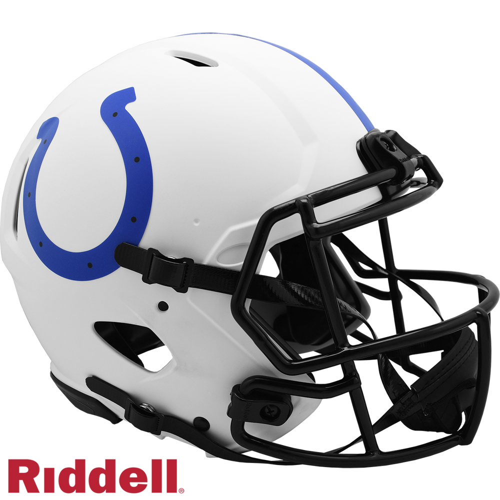 INDIANAPOLIS COLTS LUNAR SPEED AUTHENTIC HELMET