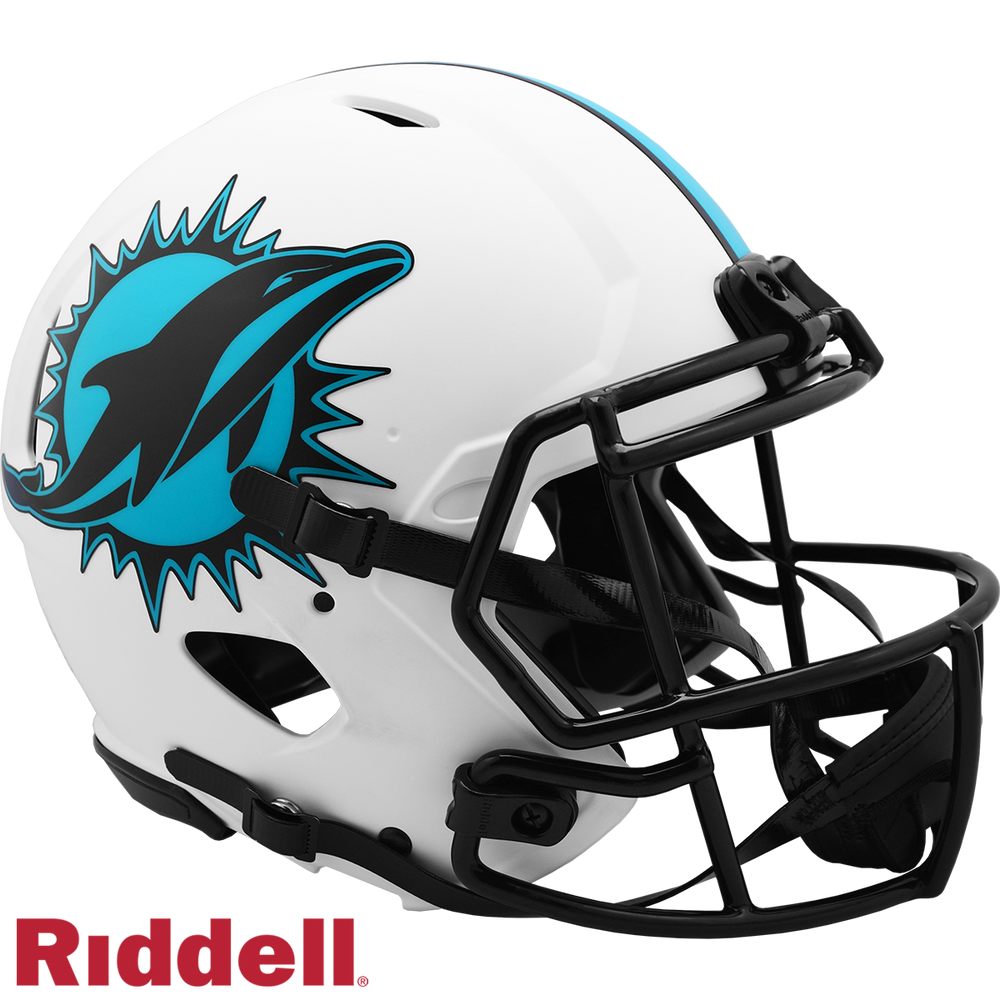 MIAMI DOLPHINS LUNAR SPEED AUTHENTIC HELMET