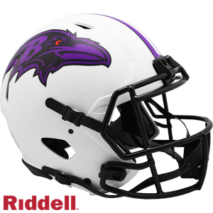BALTIMORE RAVENS LUNAR SPEED AUTHENTIC HELMET