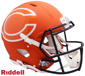 CHICAGO BEARS AMP SPEED AUTHENTIC HELMET