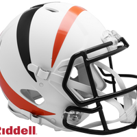 CINCINNATI BENGALS AMP SPEED AUTHENTIC HELMET