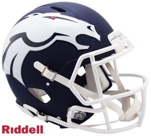 DENVER BRONCOS AMP SPEED AUTHENTIC HELMET