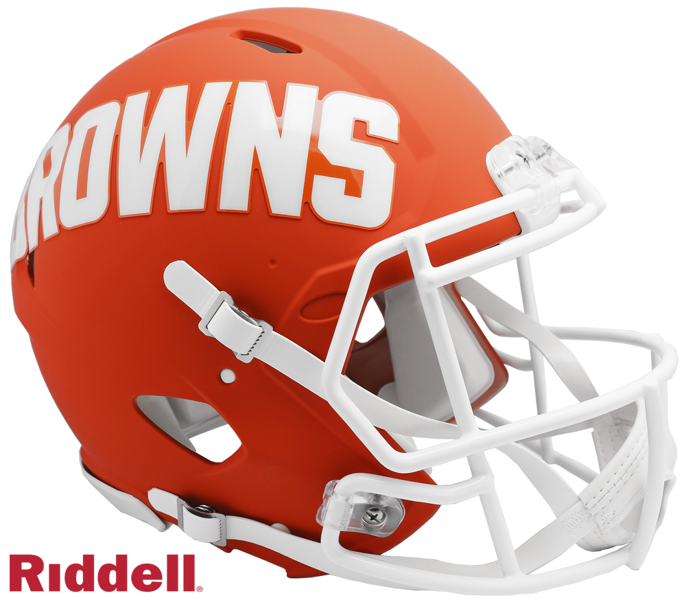 CLEVELAND BROWNS AMP SPEED AUTHENTIC HELMET
