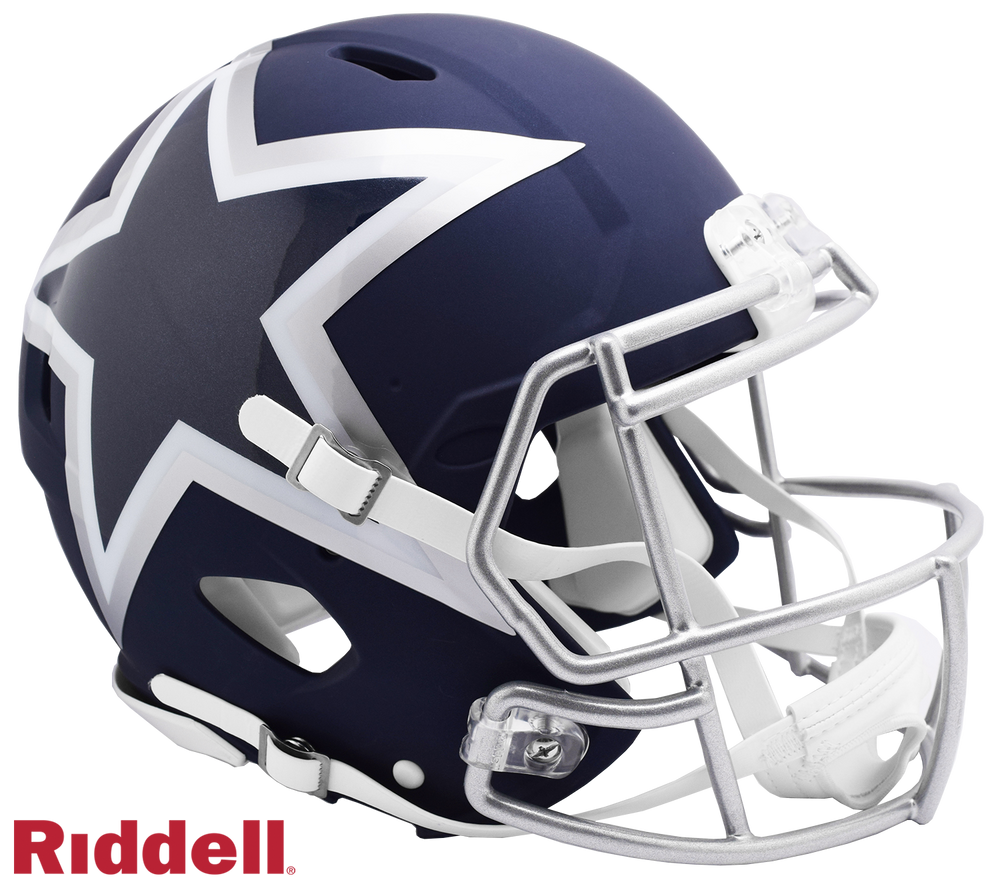 DALLAS COWBOYS AMP SPEED AUTHENTIC HELMET