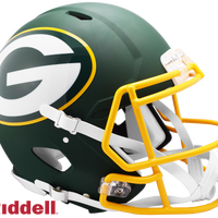 GREEN BAY PACKERS AMP SPEED AUTHENTIC HELMET