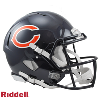 CHICAGO BEARS CURRENT STYLE SPEED AUTHENTIC HELMET