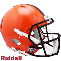 CLEVELAND BROWNS CURRENT STYLE SPEED AUTHENTIC HELMET
