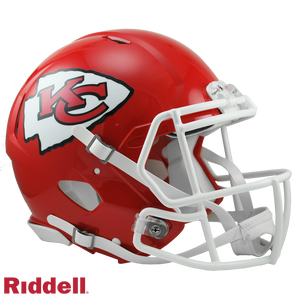 KANSAS CITY CHIEFS CURRENT STYLE SPEED AUTHENTIC HELMET