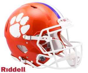CLEMSON TIGERS NCAA SPEED AUTHENTIC HELMET