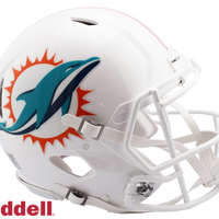 MIAMI DOLPHINS CURRENT STYLE SPEED AUTHENTIC HELMET