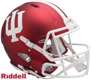 INDIANA HOOSIERS NCAA SPEED AUTHENTIC HELMET