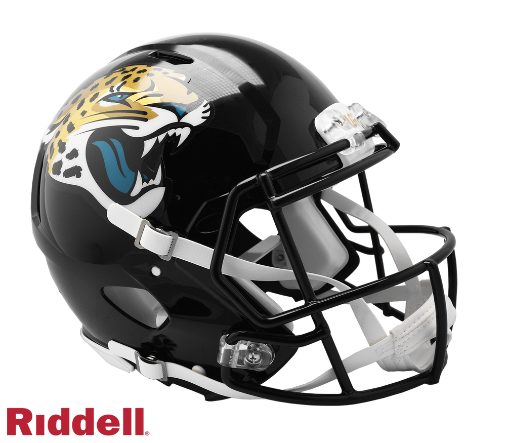 JACKSONVILLE JAGUARS CURRENT STYLE SPEED AUTHENTIC HELMET