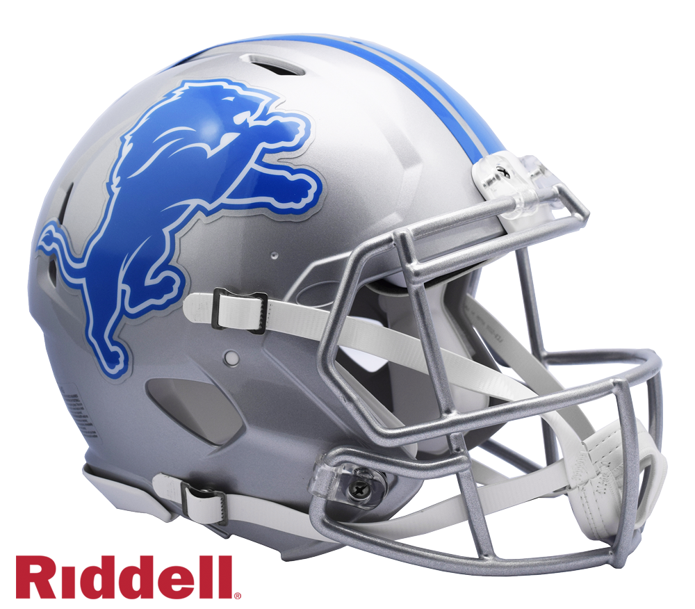 DETROIT LIONS CURRENT STYLE SPEED AUTHENTIC HELMET