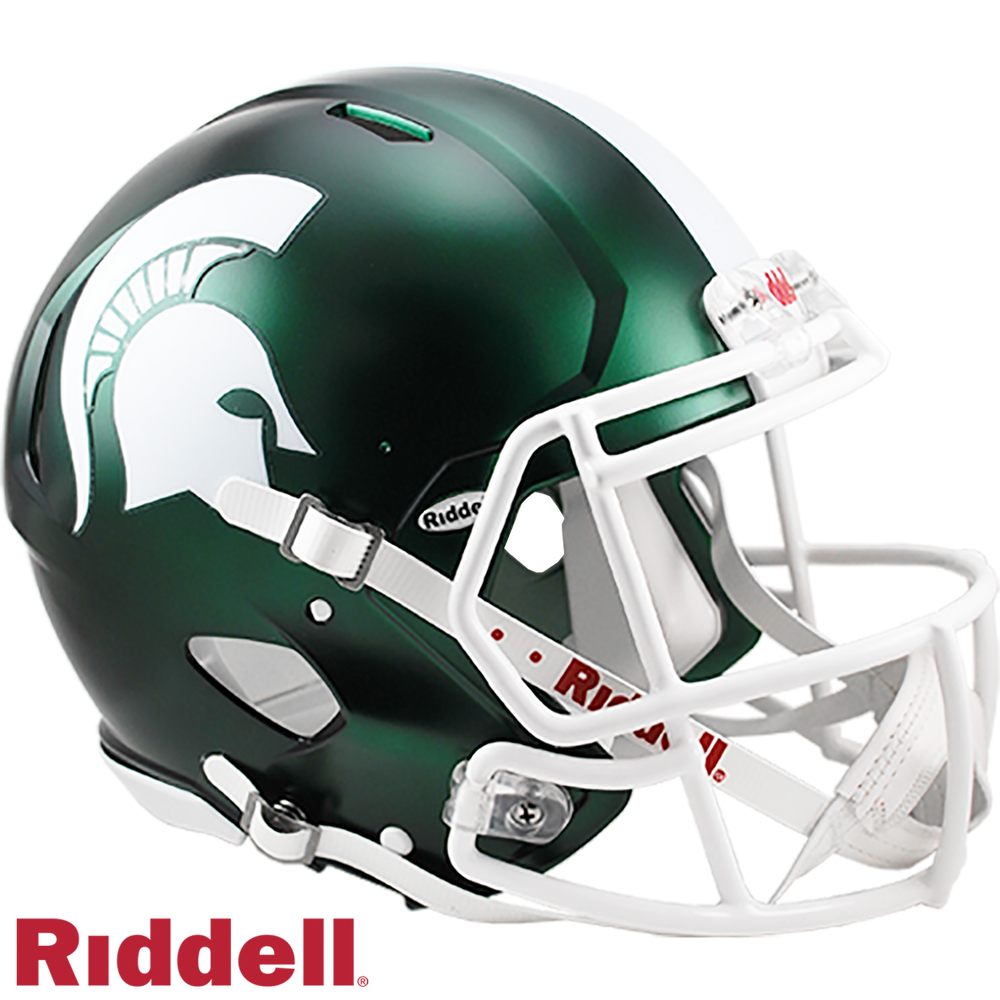 MICHIGAN STATE SPARTANS NCAA SPEED AUTHENTIC HELMET