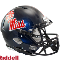 OLE MISS REBELS NCAA SPEED AUTHENTIC HELMET