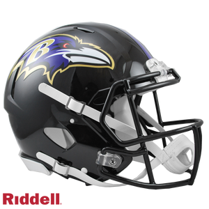 BALTIMORE RAVENS CURRENT STYLE SPEED AUTHENTIC HELMET