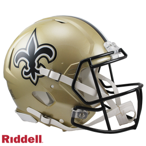 NEW ORLEANS SAINTS CURRENT STYLE SPEED AUTHENTIC HELMET