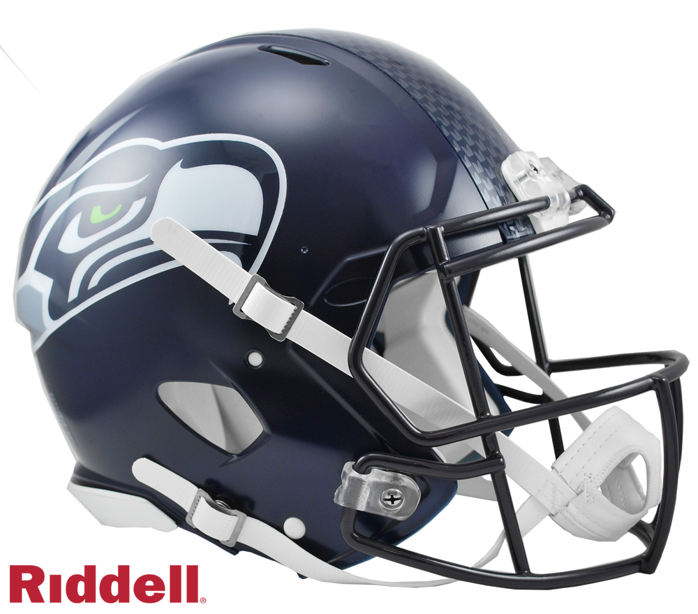 SEATTLE SEAHAWKS CURRENT STYLE SPEED AUTHENTIC HELMET