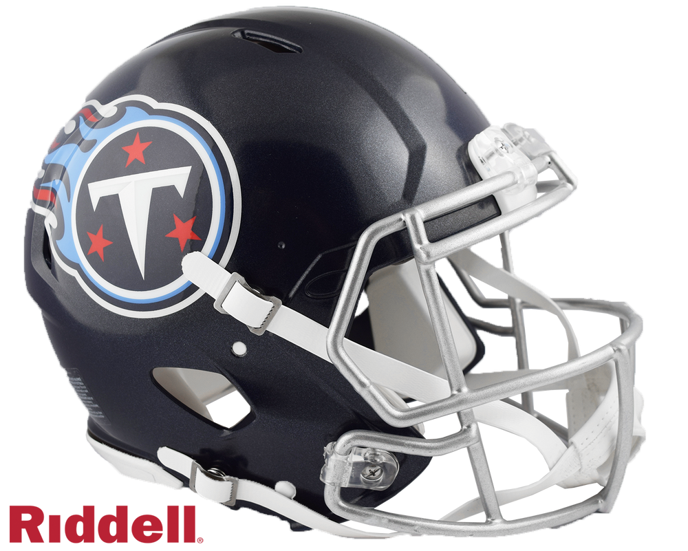TENNESSEE TITANS CURRENT STYLE SPEED AUTHENTIC HELMET