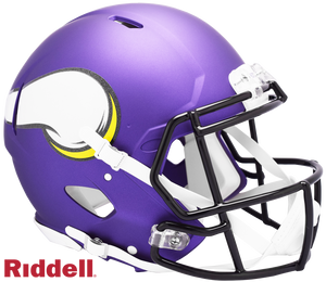 MINNESOTA VIKINGS CURRENT STYLE SPEED AUTHENTIC HELMET