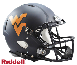 WEST VIRGINIA MOUNTAINEERS NCAA SPEED AUTHENTIC HELMET