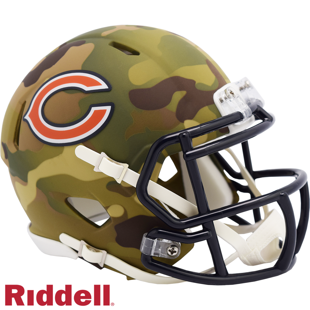 CHICAGO BEARS CAMO SPEED MINI HELMET