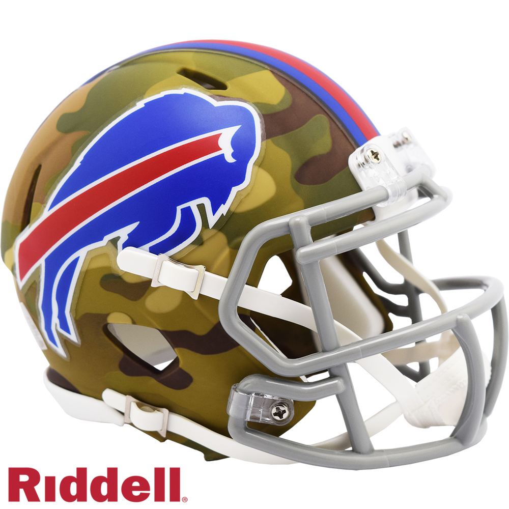 BUFFALO BILLS CAMO SPEED MINI HELMET