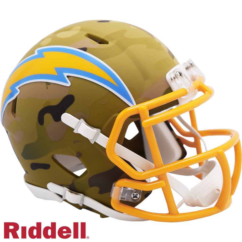 LOS ANGELES CHARGERS CAMO SPEED MINI HELMET