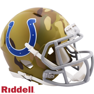 INDIANAPOLIS COLTS CAMO SPEED MINI HELMET