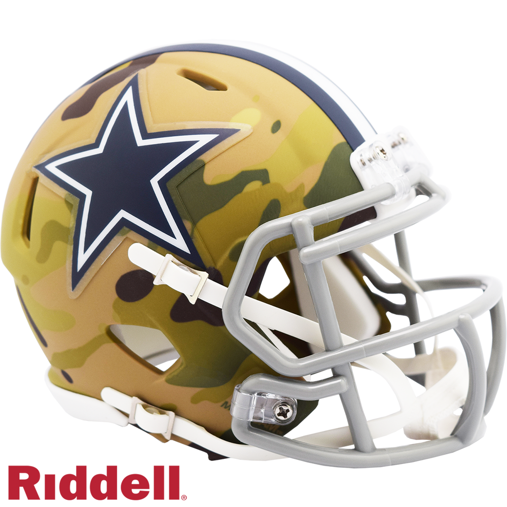 DALLAS COWBOYS CAMO SPEED MINI HELMET