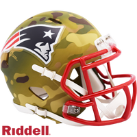NEW ENGLAND PATRIOTS CAMO SPEED MINI HELMET