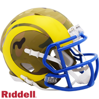 LOS ANGELES RAMS CAMO SPEED MINI HELMET