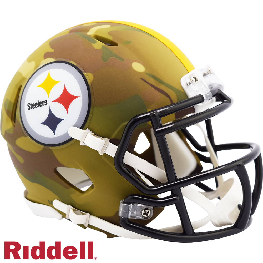 PITTSBURGH STEELERS CAMO SPEED MINI HELMET