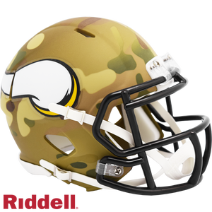 MINNESOTA VIKINGS CAMO SPEED MINI HELMET
