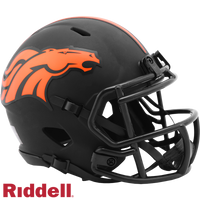 DENVER BRONCOS ECLIPSE MINI HELMET