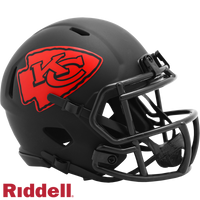 KANSAS CITY CHIEFS ECLIPSE MINI HELMET