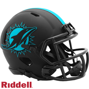 MIAMI DOLPHINS ECLIPSE MINI HELMET