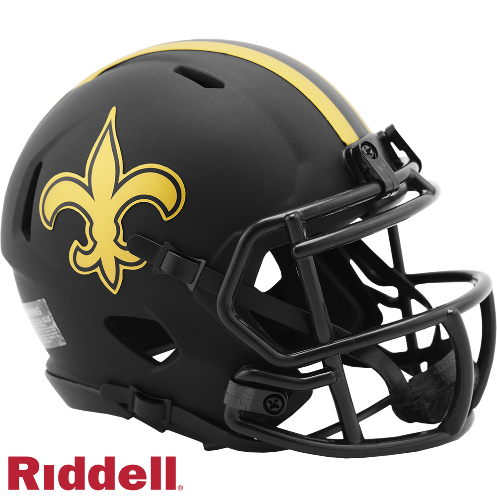 NEW ORLEANS SAINTS ECLIPSE MINI HELMET