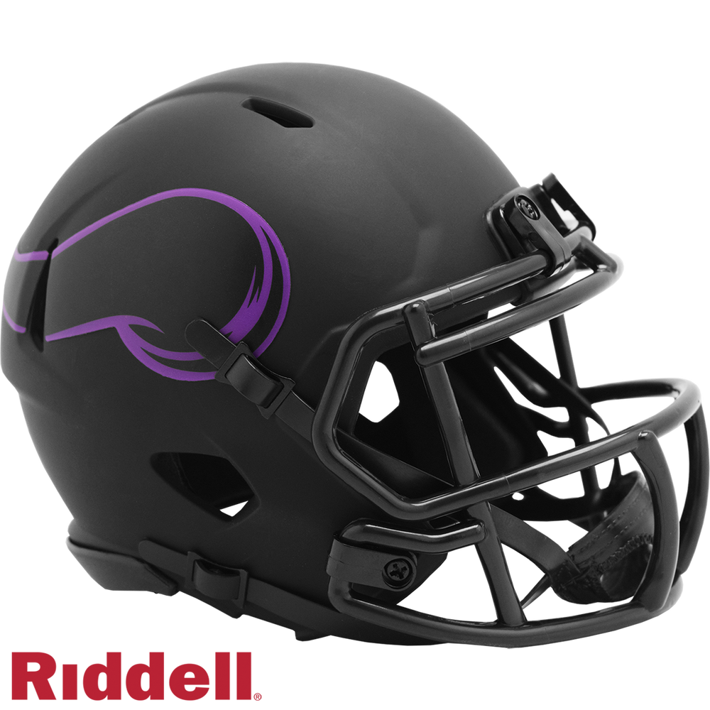 MINNESOTA VIKINGS ECLIPSE MINI HELMET