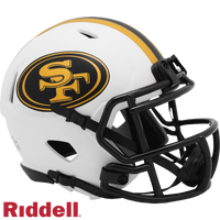 SAN FRANCISCO 49ERS LUNAR SPEED MINI HELMET