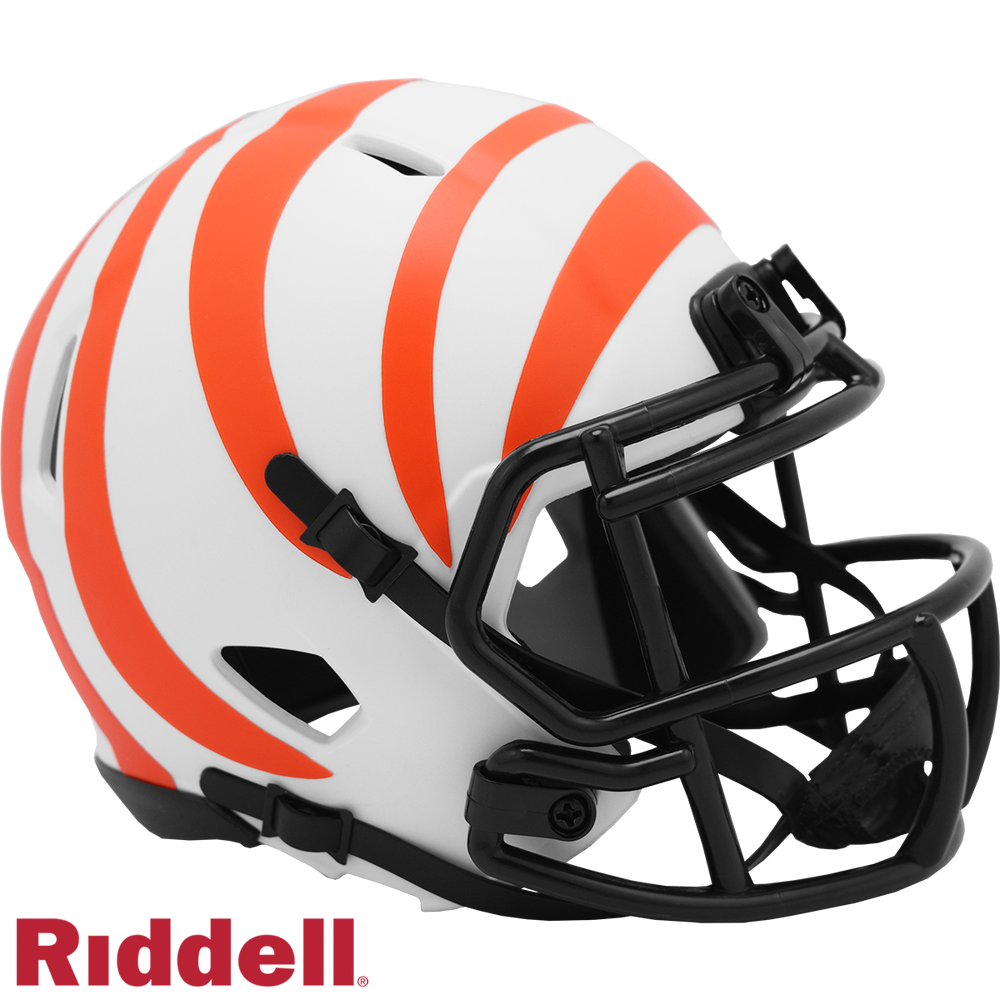 CINCINNATI BENGALS LUNAR SPEED MINI HELMET