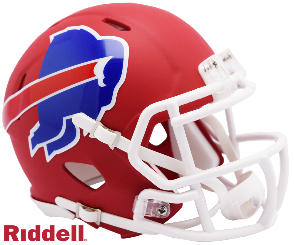 BUFFALO BILLS AMP MINI HELMET