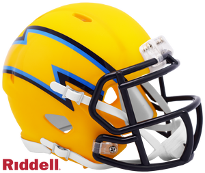 LOS ANGELES CHARGERS AMP SPEED AUTHENTIC HELMET