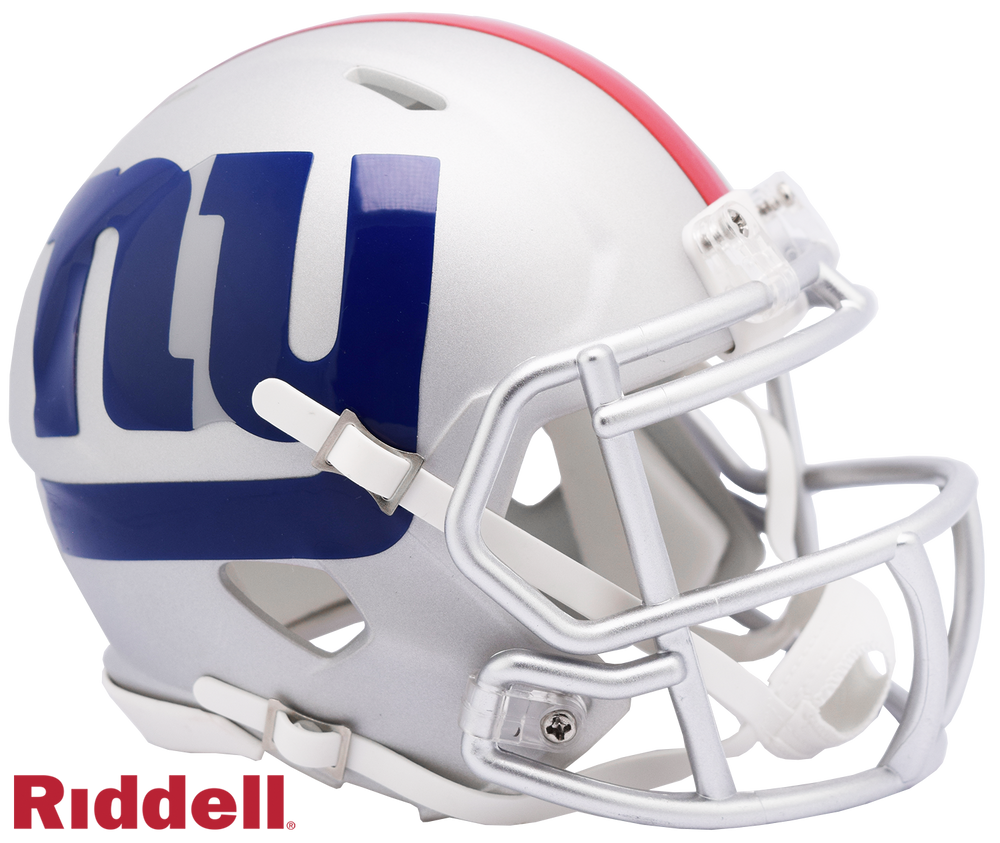 NEW YORK GIANTS AMP MINI HELMET