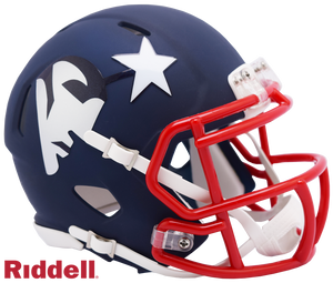 NEW ENGLAND PATRIOTS AMP MINI HELMET