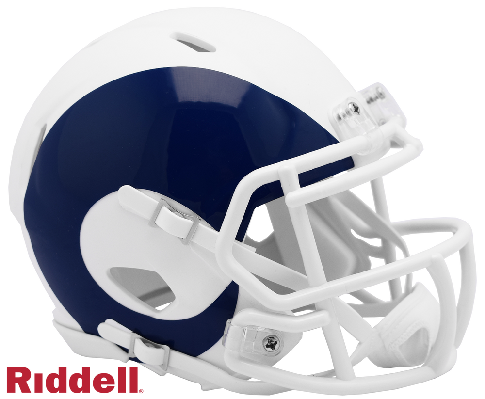 LOS ANGELES RAMS AMP MINI HELMET